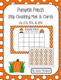 Pumpkin Patch Skip Counting Mat & Cards
