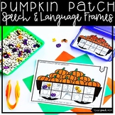 Pumpkin Patch Speech Therapy: Articulation and Language Frames