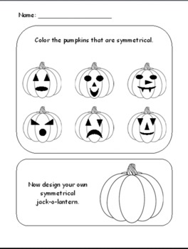 Pumpkin Patch Symmetry
