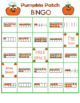 Pumpkin Patch Ten Frame Bingo Set 1 Numbers 0-10