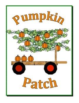 Pumpkin Patch Ten Frame Game