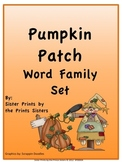 Pumpkin Patch Word Families