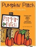 Pumpkin Patch Word Problems
