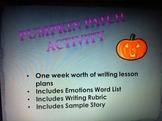 Pumpkin Patch Writing Activity