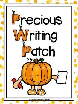 Pumpkin Patch Writing Cut and Paste Craftivity