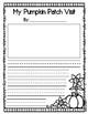 Pumpkin Patch Writing Paper