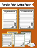 Pumpkin Patch Writing Paper