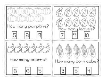 Kindergarten Math-Counting, Adding, & Subtracting