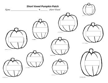 Pumpkin Patch of Short Vowels