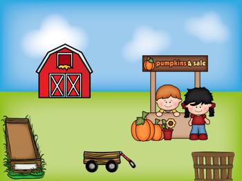 Pumpkin Path Math Mats