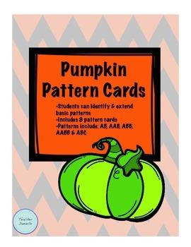 Pumpkin Pattern Cards