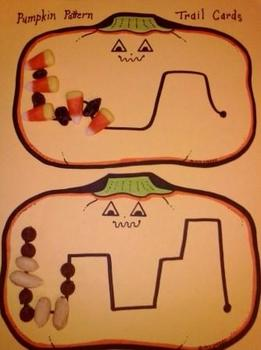 Pumpkin Pattern Game K-3