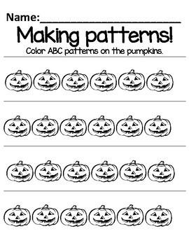 Pumpkin Patterns Pack*FREEBIE*