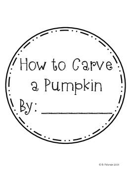 Pumpkin People {A Halloween Craftivity}