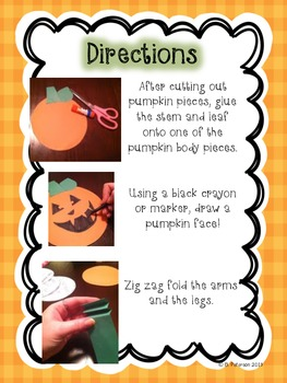 Pumpkin People {A Halloween Craftivity}