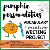 Halloween Writing Activity Fall Writing Project