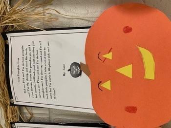 Pumpkin Persuasive Writing & Crafivity Project