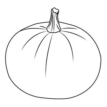 pumpkin clip art black and white - 27 Pumpkin Clipart Black And White |  Pumpkin coloring pages, Fall coloring pages, Pumpkin printable
