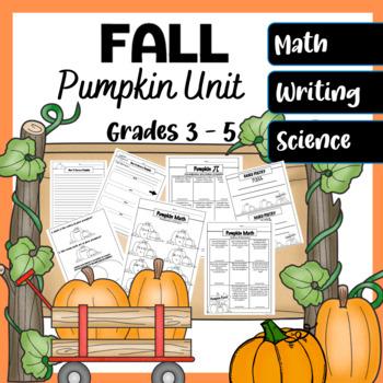 Pumpkin Fall Unit (Pumpkin Pi,How Many Seeds in a Pumpkin