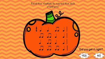 Pumpkin Picker Rhythm Game Ta TiTi