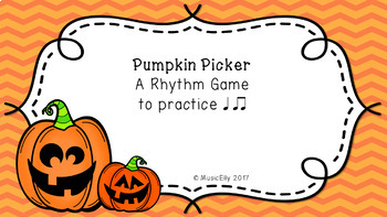 Pumpkin Picker Rhythm Game Bundle