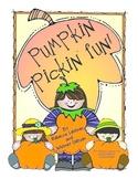 Pumpkin Pickin' Fun!