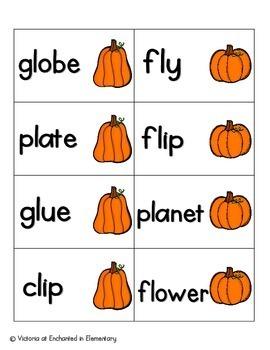 Pumpkin Pickin' Phonics: L-Blends Pack
