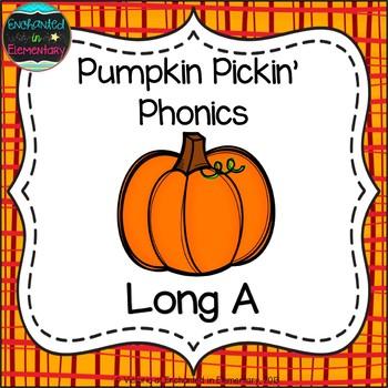 Pumpkin Pickin' Phonics: Long A Pack