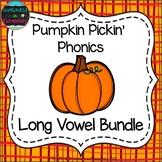 Pumpkin Pickin' Phonics: Long Vowel Bundle