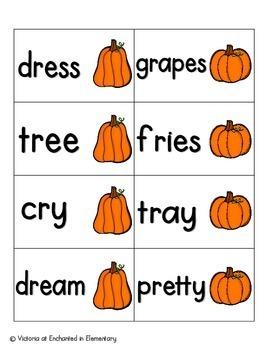 Pumpkin Pickin' Phonics: R-Blends Pack