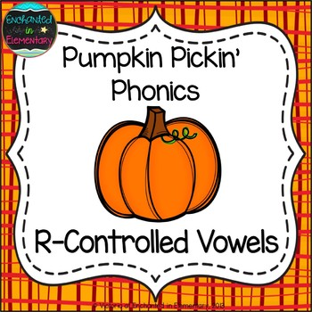 Pumpkin Pickin' Phonics: R-Controlled Vowel Words Pack
