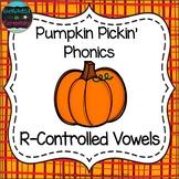 Pumpkin Pickin' Phonics: R-Controlled Vowel Words Pack