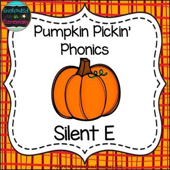 Pumpkin Pickin' Phonics: Silent E Words Pack