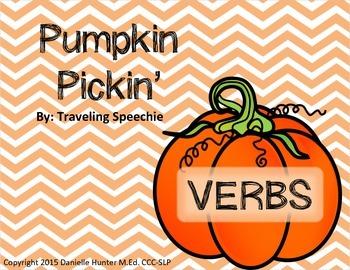 Pumpkin Pickin' Verb Work
