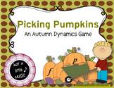 Pumpkin Picking - An Autumn Dynamics Game {forte piano edition}