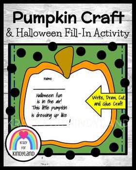 Pumpkin Picking Craft and Writing