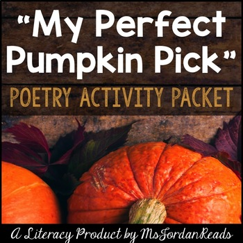 Pumpkin Picking Fun! {Fall Poetry Packet}