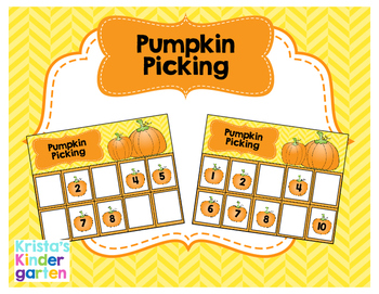 Pumpkin Picking Math Game