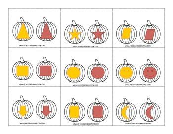 Pumpkin Picking Sort: Same or Different