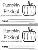 Pumpkin Picking: mini-book