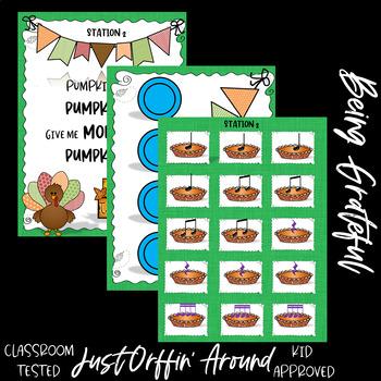 Pumpkin Pie - A Thanksgiving Rhythm Game