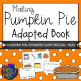 Pumpkin Pie Sequencing Adapted Book