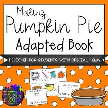 Pumpkin Pie Adapted Book