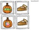 Pumpkin- Pie Alphabet Match