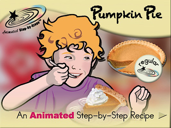 Pumpkin Pie - Animated Step-by-Step Recipe
