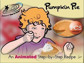 Pumpkin Pie - Animated Step-by-Step Recipe PCS