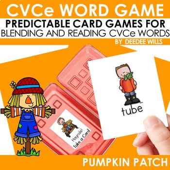 Pumpkin Pie! CVCe Memory Match and Game