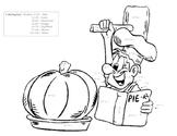 Pumpkin Pie Color by Product