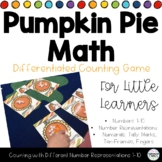 Pumpkin Pie Differentiated Counting Math Game 1-10 - 4 Cou