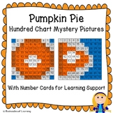 Pumpkin Pie (Fall, Autumn, Thanksgiving) Hundred Chart Mystery Pictures